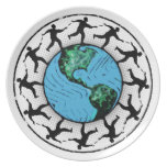 Disc Golfing Planet Earth Plates