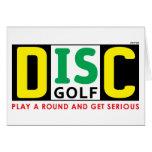 Disc Is Golf Card