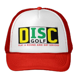 Disc Is Golf Mesh Hat