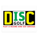 Disc Is Golf Postcards