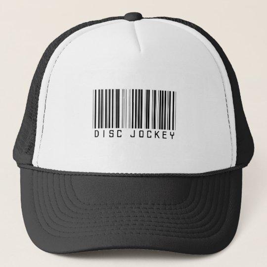 Disc Jockey Bar Code Trucker Hat