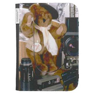 Disc Jockey bear Cases For Kindle