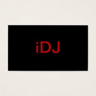 Disc Jockey Business Card