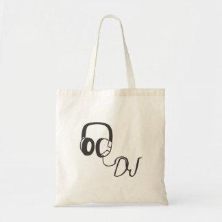 Disc jockey, headphones, MUSIC, T-shirt, birthday Tote Bag