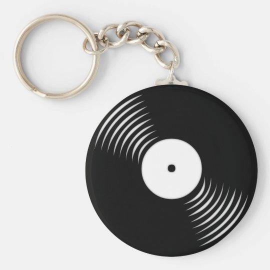 Disc jockey keychain