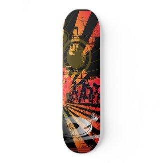 Disc Jockey Skate Deck Skateboard   skateboard