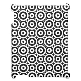 Disc Patterned iPad Cases