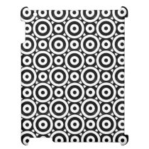 Disc Patterned iPad Cover