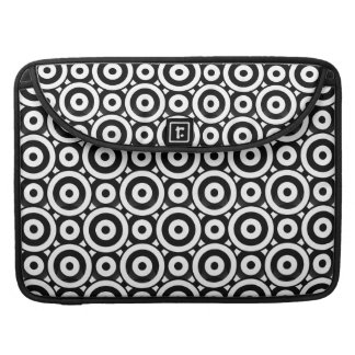 Disc Patterned Sleeve For MacBook Pro