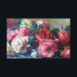 """Discarded Roses  Renoir Fine Art Canvas Print<br><div class=""""desc"""">Discarded Roses is a beautiful flower painting by French impressionist painter,  Pierre-Auguste Renoir. He became one of the leaders of Impressionism style painting (1841-1919). It is evident in his paintings of flowers and women he loved depicting the beauty and sensuality of the moment.</div>"""