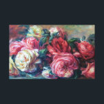 "Discarded Roses  Renoir Fine Art Canvas Print<br><div class=""desc"">Discarded Roses is a beautiful flower painting by French impressionist painter,  Pierre-Auguste Renoir. He became one of the leaders of Impressionism style painting (1841-1919). It is evident in his paintings of flowers and women he loved depicting the beauty and sensuality of the moment.</div>"
