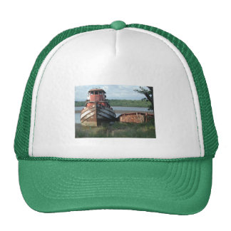 Discarded Tugboat Trucker Hat