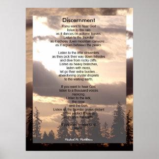Discernment Poster