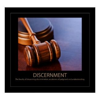 Discernment Poster