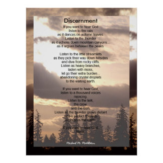 Discernment Posters