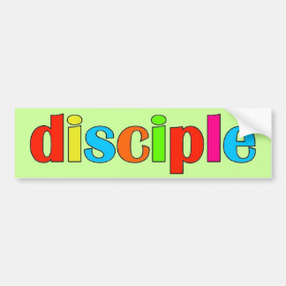 Disciple Bumper Sticker