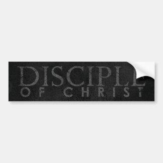 Disciple Of Christ Car Bumper Sticker