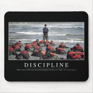 Disciplina: Cita inspirada Alfombrilla De Ratón