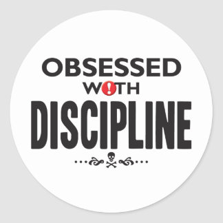 Disciplina obsesionada etiqueta