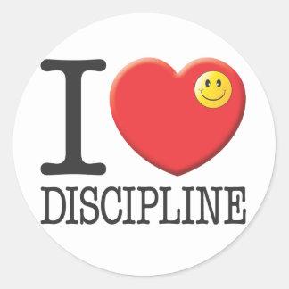 Disciplina Pegatina