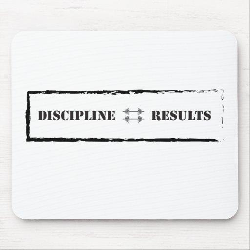 Disciplina = resultados alfombrilla de ratón