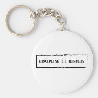 Disciplina = resultados llavero redondo tipo pin