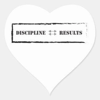 Disciplina resultados pegatinas de corazon personalizadas