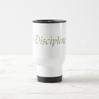 Discipline 15 Oz Stainless Steel Travel Mug
