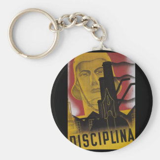 Discipline (1937)_Propaganda Poster Keychain