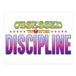 Discipline 2 Obsessed Postcard