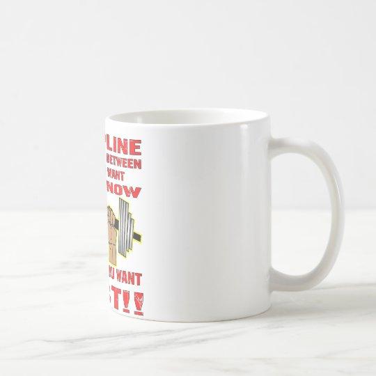 Discipline Choosing Between Now And Most Coffee Mug
