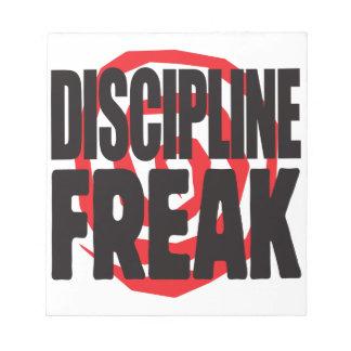 Discipline Freak Notepads