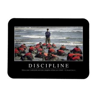 Discipline: Inspirational Quote Rectangular Photo Magnet