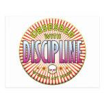 Discipline Obsessed R Postcard