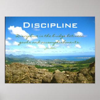Discipline Posters