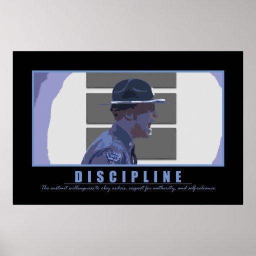 Discipline Print