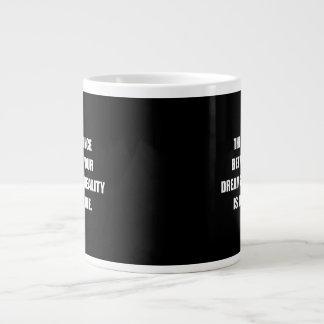 Discipline Quote Large Coffee Mug