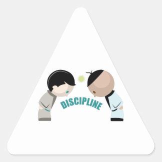 Discipline Triangle Sticker