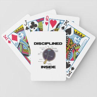 Disciplined (Eye) Inside (Eyeball Anatomy) Bicycle Playing Cards