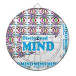 Disciplined MIND : Motivational Wisdom SCRIPT Dartboards