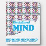 Disciplined MIND : Motivational Wisdom SCRIPT Plaque
