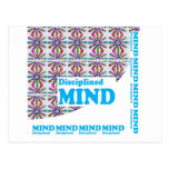 Disciplined MIND : Motivational Wisdom SCRIPT Postcard