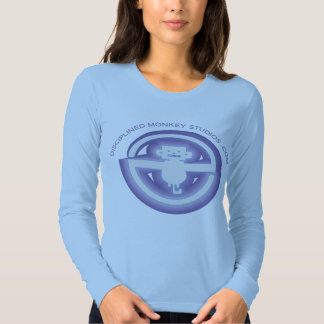 Disciplined Monkey Ladies Long Sleve Fitted Tee Shirt