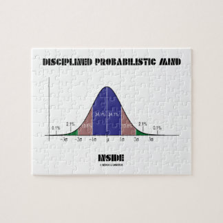 Disciplined Probabilistic Mind Inside Bell Curve Jigsaw Puzzle