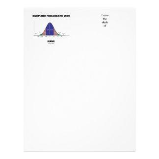 Disciplined Probabilistic Mind Inside Bell Curve Letterhead