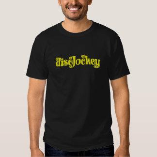 DiscJockey Yellow Polera