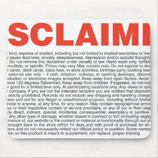 Disclaimer Mouse Pad