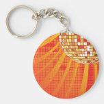 Disco ~ 1980s 80s Disco Ball Keychains