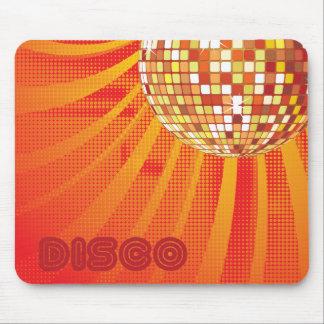 Disco 1980s 80s Disco Ball Mousepad