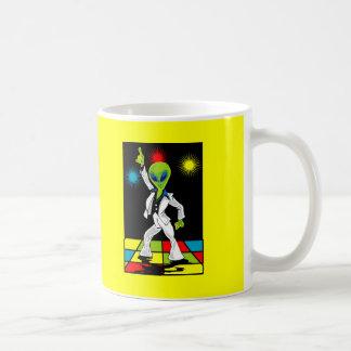 Disco Alien Coffee Mug